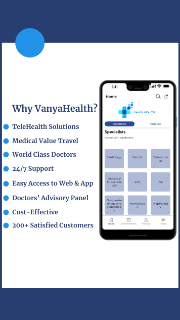 Vanya-Health - Consult Top Specialist in India